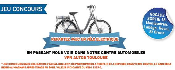 gagnez un vélo électrique