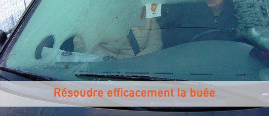 Astuce pour enlever la buée dans sa voiture