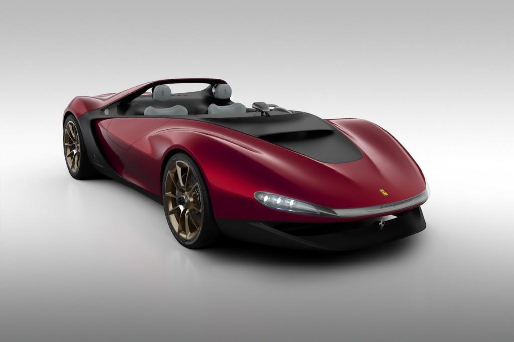 Classement des voitures les plus chères du monde : Pininfarina Ferrari Sergio Concept 11