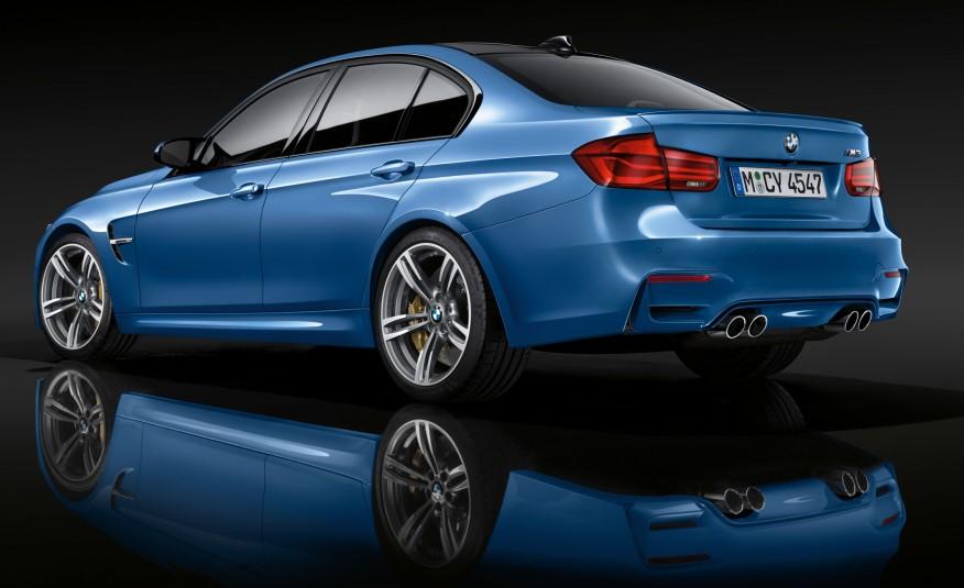 BMW M3 - Les voitures de Mission Impossible 5