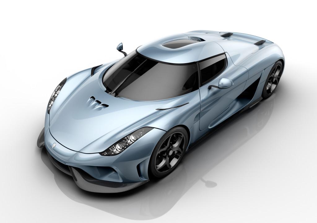 Classement des voitures les plus chères du monde : Koenigsegg Regera