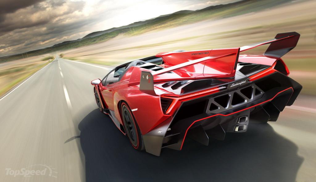 Classement des voitures les plus chères du monde : Lamborghini Veneno Roadster