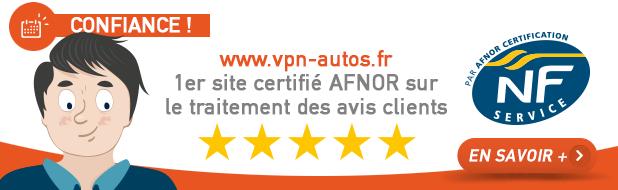 Avis client VPN Autos certifiés AFNOR