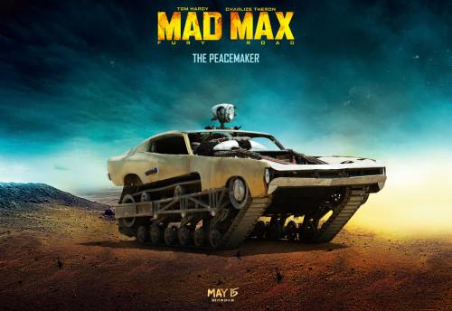Découvrez la voiture de Mad Max