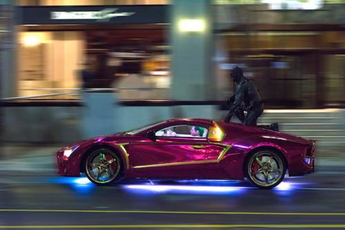 La voiture du Joker