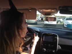 Intérieur de la Clio IV testée par Nina