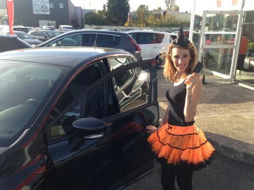 Essai de la nouvelle Renault Clio 4 spécial Halloween