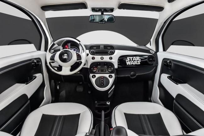 Intérieur Fiat 500 Star Wars
