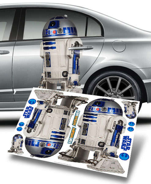 Sticker Voiture R2-D2
