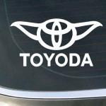 Sticker Autocollant Toyoda