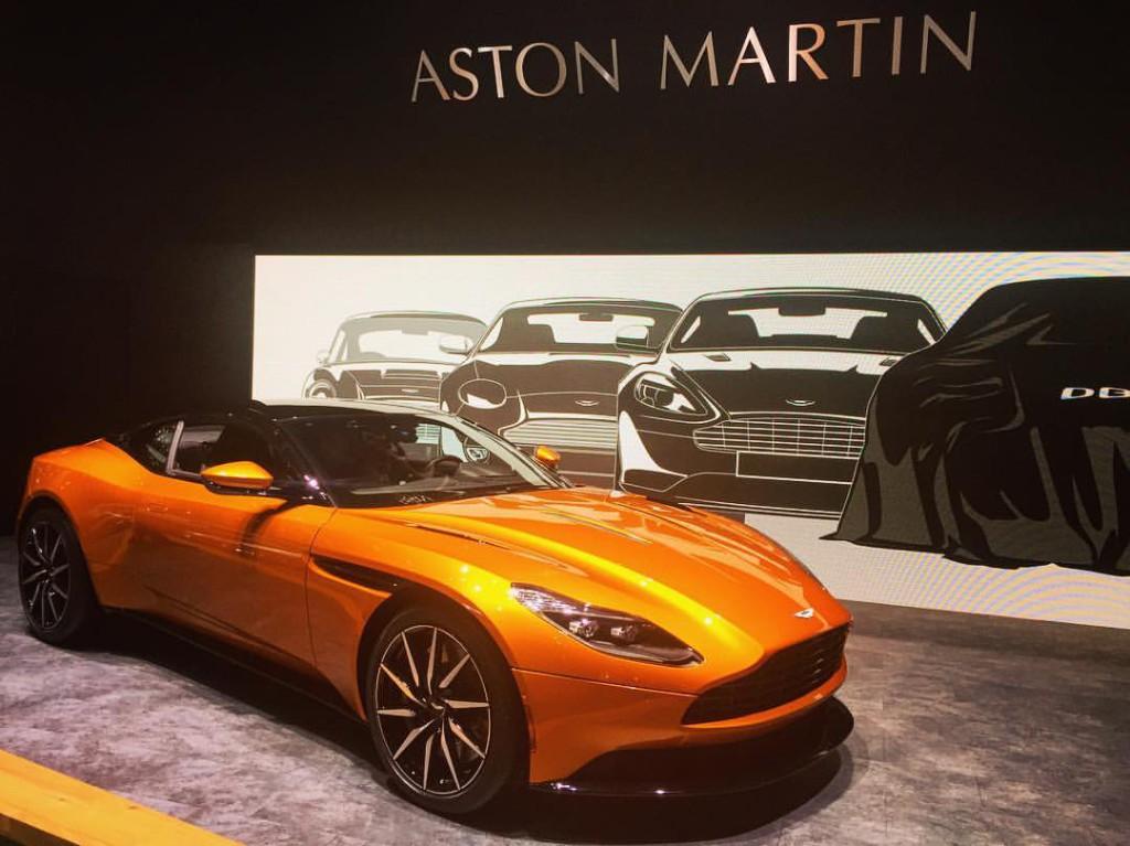 Découvrez en avant première la nouvelle Aston Martin DB11