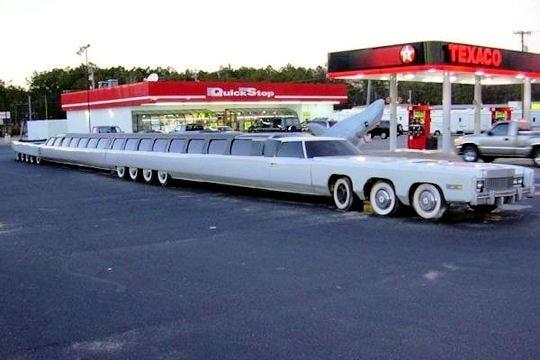 La plus longue limousine du monde