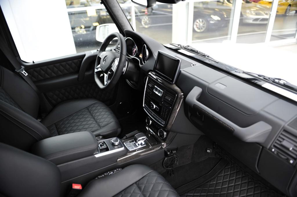 brabus vue intérieure 6x6 Mercedes