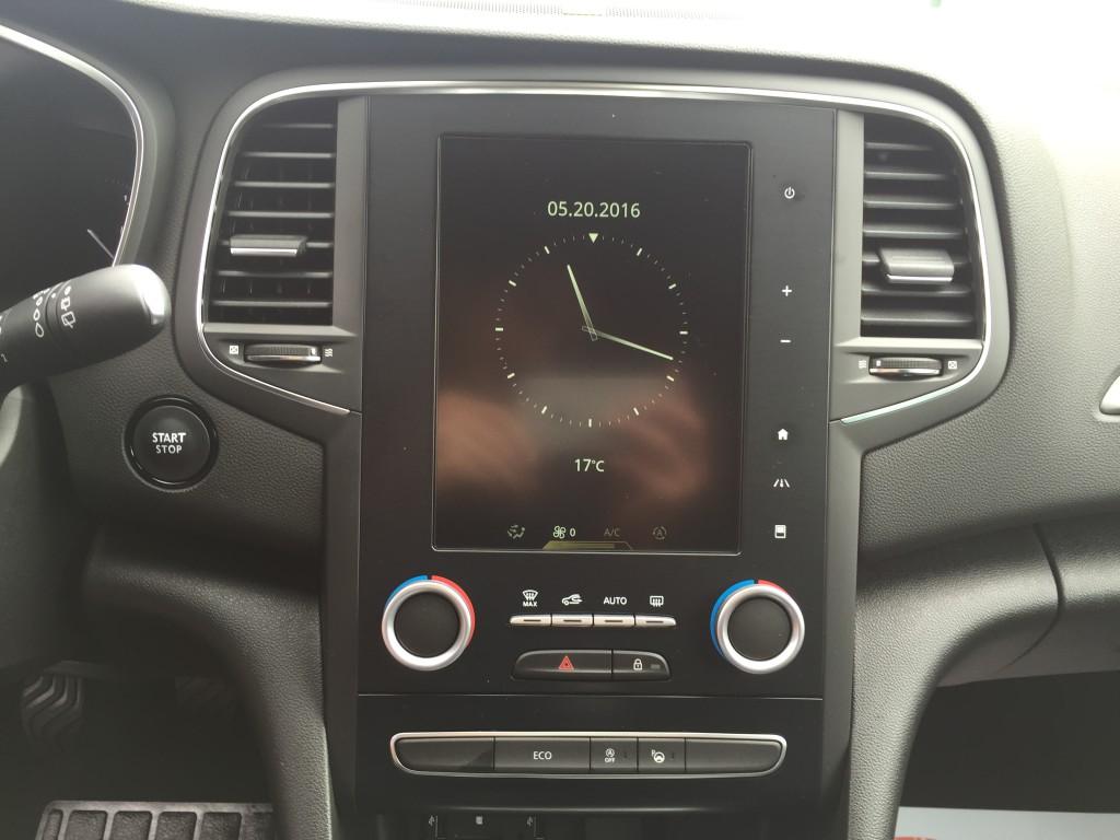 Ecran multimédia Renault Mégane 4