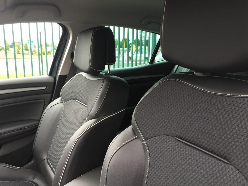 Siège, confort, nouvelle Renault Mégane