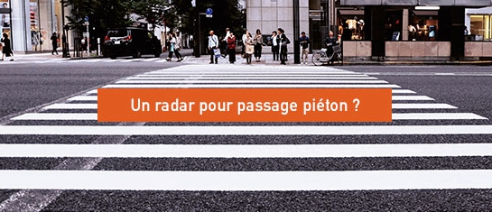 Radar passage piéton