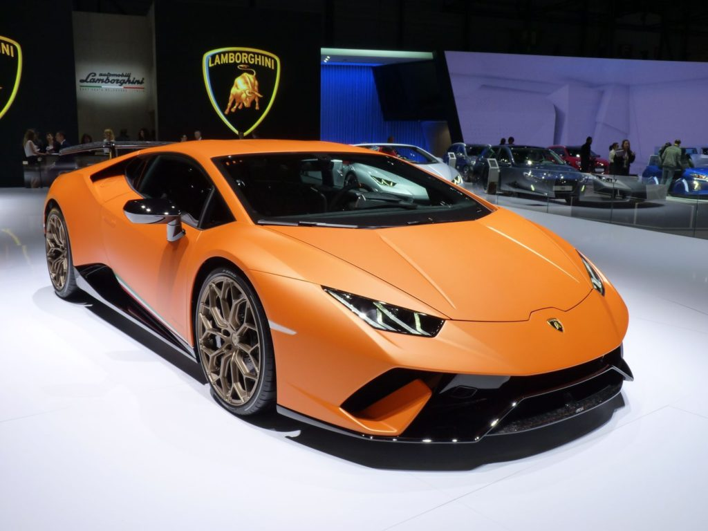 Voiture Lamborghini Huracan Performante