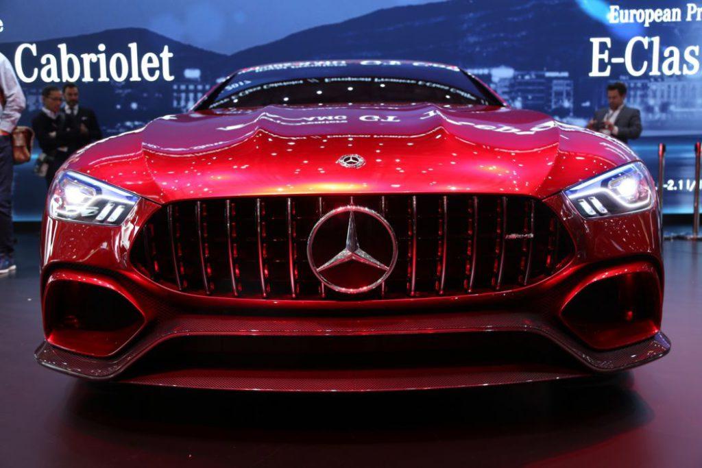 Voiture Mercedes-AMG GT Concept