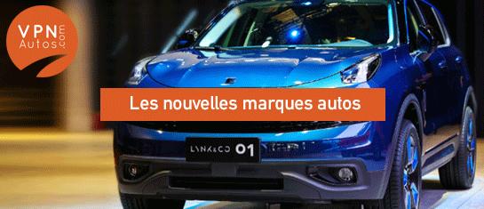 les nouvelles marques automobiles