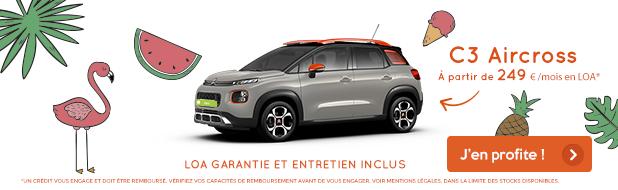 Citroën C3 Aircross à partir de 249 €/mois