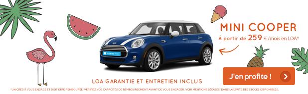 Votre Mini Mini Cooper à partir de 259 €/mois*