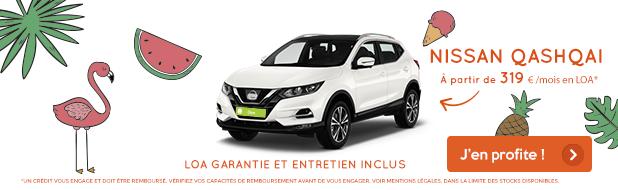 Nissan Qashqai - Nouveau à partir de 319 €