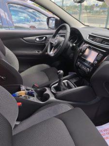 Intérieur Nissan Qasquai