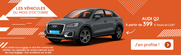 Audi Q2 à partir de 399€/mois*