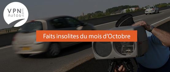 Les 10 faits insolites du mois d'Octobre !