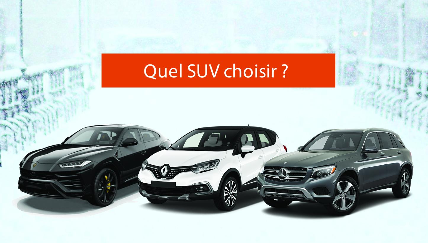 Pourquoi choisir un SUV ?