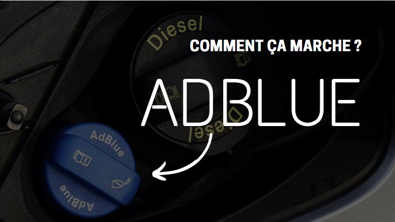 L'AdBlue, comment faire le plein ?