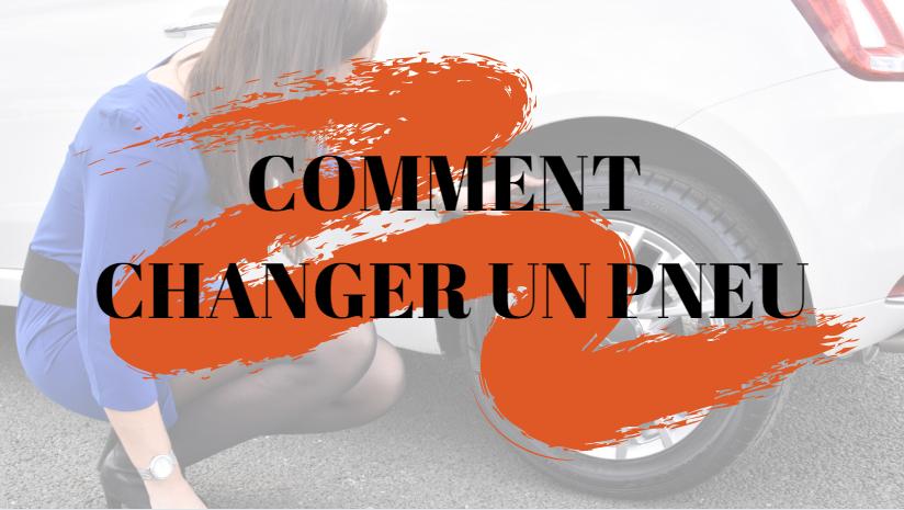 Comment changer un pneu ?