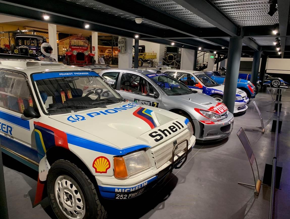 Retour en images sur la visite du Musée de l'Aventure Peugeot !